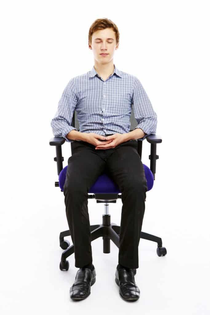 meditation stuhl